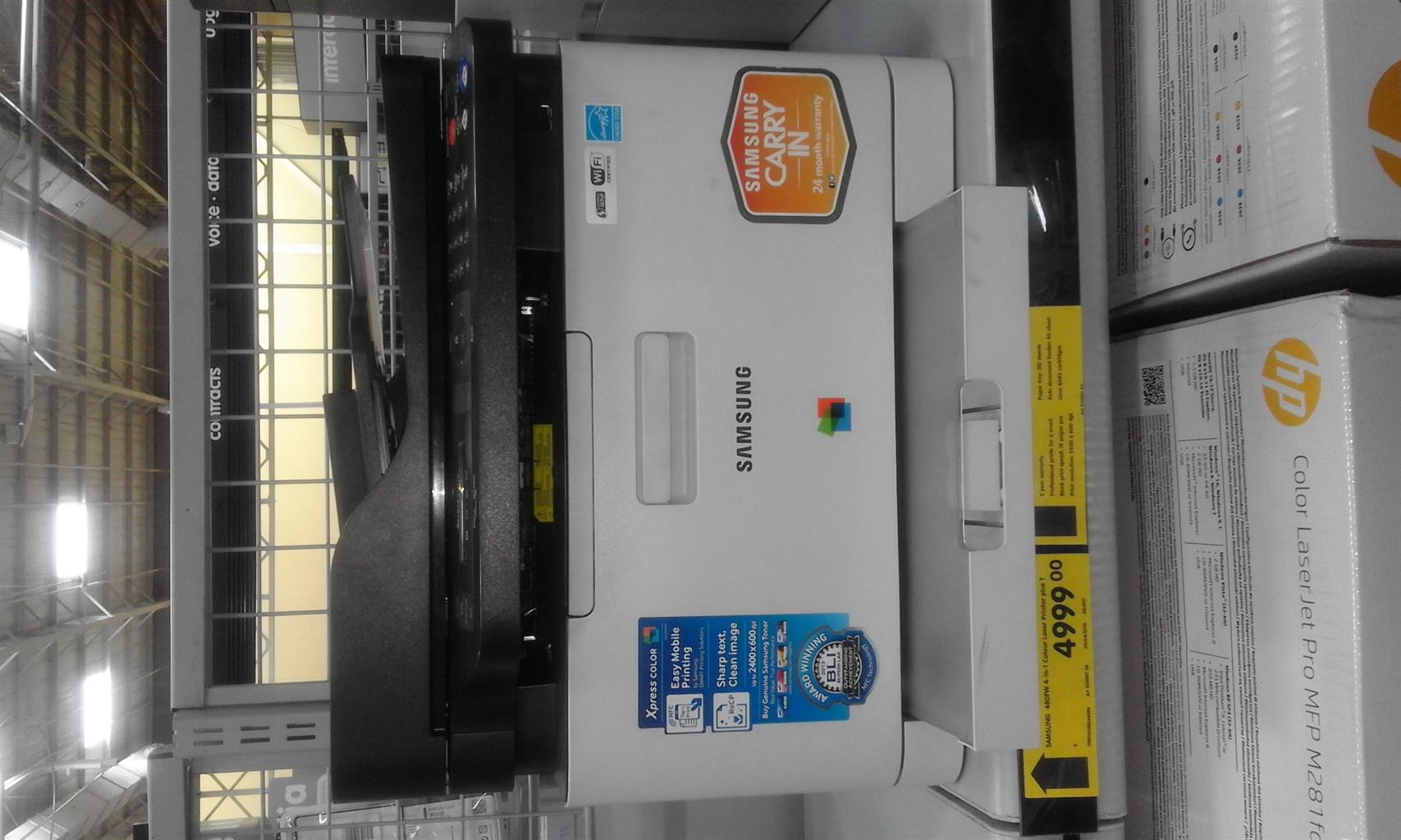 Samsung CLX-3305FW All-in-one Colour  Lazer Printer