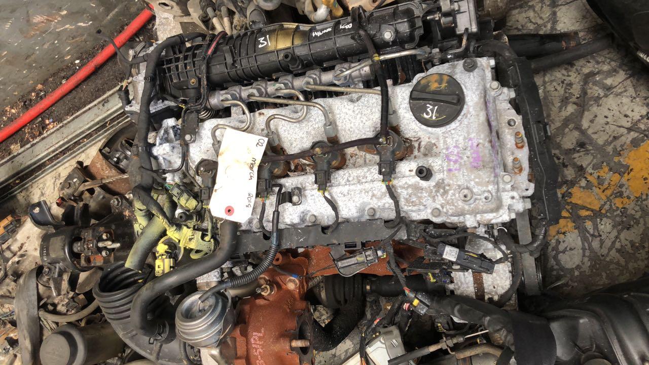 KIA SERRANTO 2.5 TDi D4CB  COMPLETE ENGINE SALE. CALL 012 323 9786 CELL OR WHATSAPP 060 395 3079