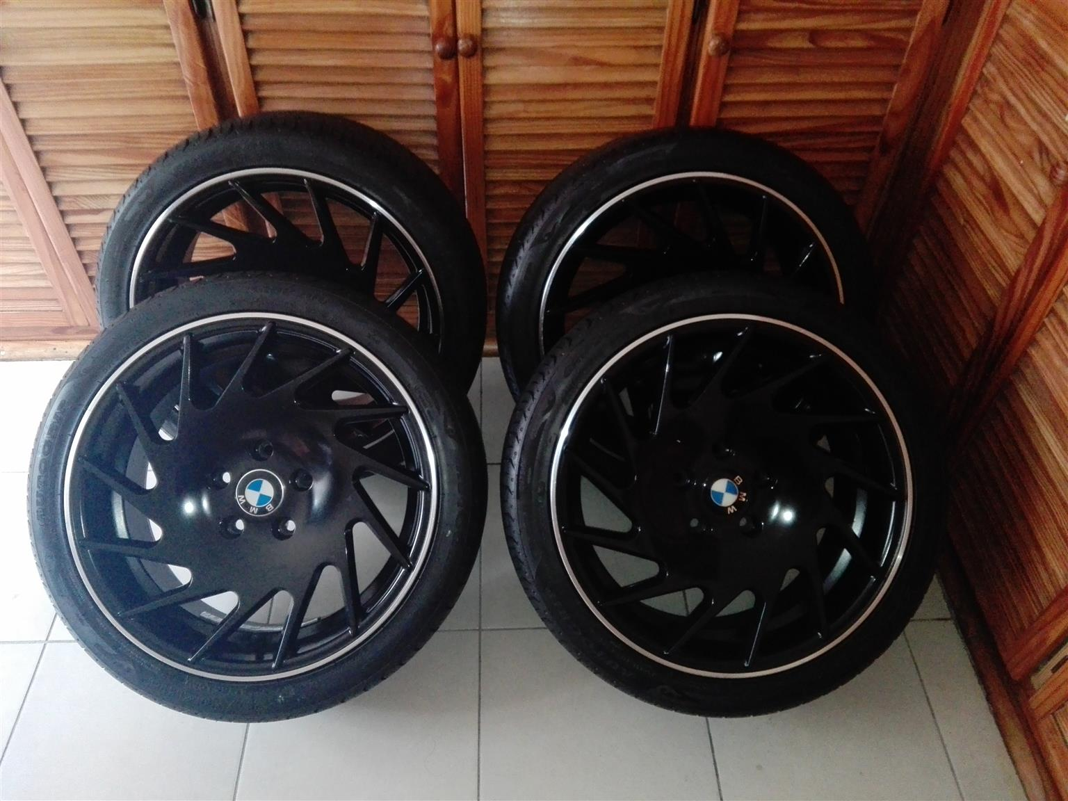 225/40/18 rims and tyres for sale