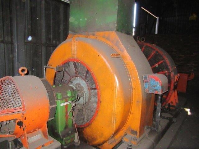 Metropolitan Vickers 1050 kVA, Direct Current Synchronous Generator Set