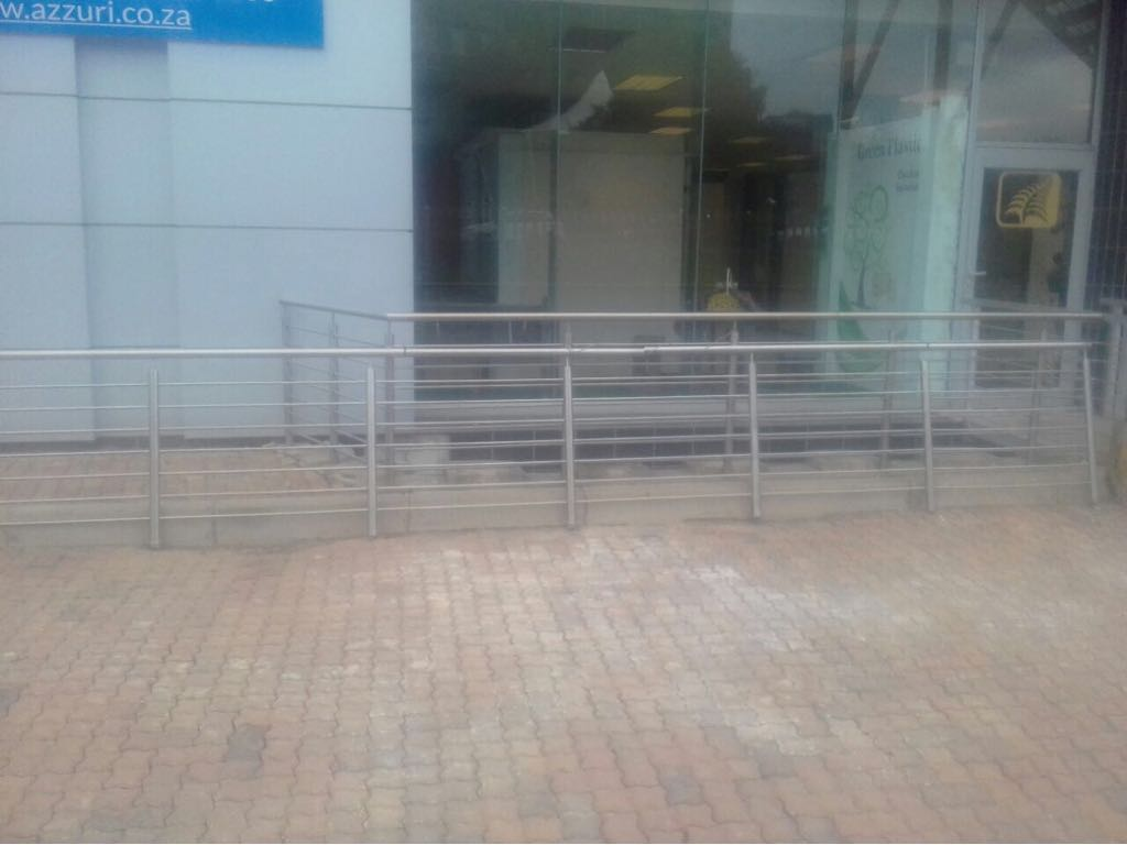 NEW STAINLESS STEEL BALUSTRADES