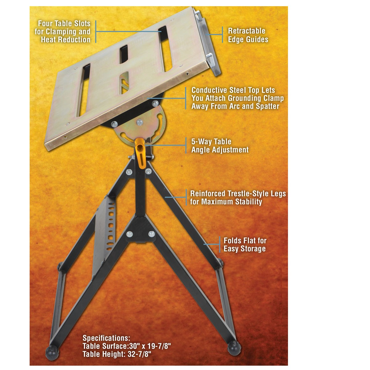 Portable Welding Table Never Used Junk Mail