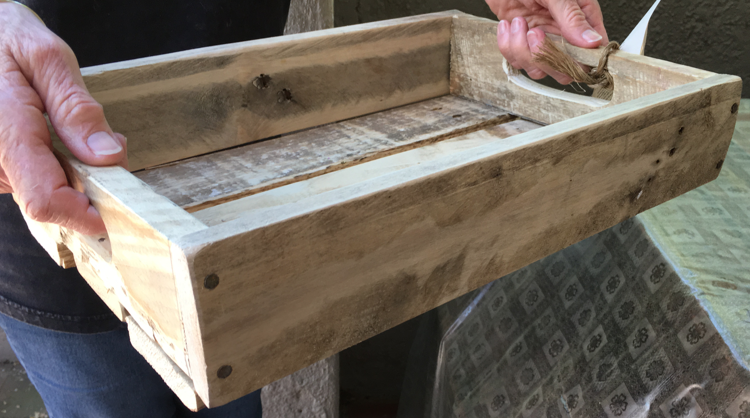Quality trays from pallets