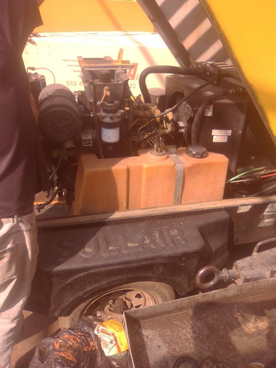 Diesel Compressor In Industrial Machinery In South Africa