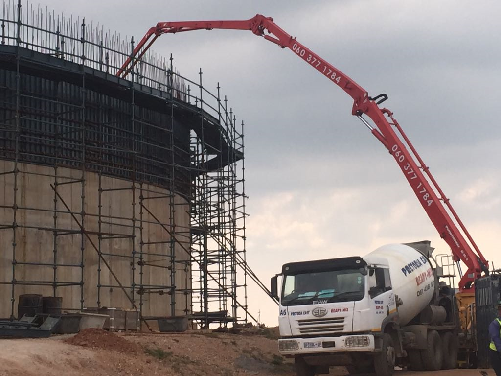 Prices from R850/cube Excl**READY MIX CONCRETE IN PRETORIA, CULLINAN, RAYTON, BRONKHORSTSPRUIT