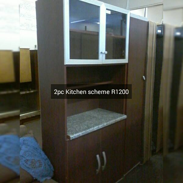 2 Piece kitchen scheme