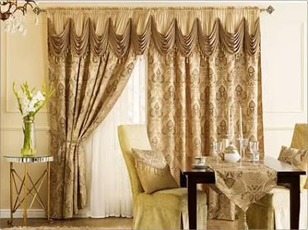 Freda Gold Homechoice Curtains 5 pc