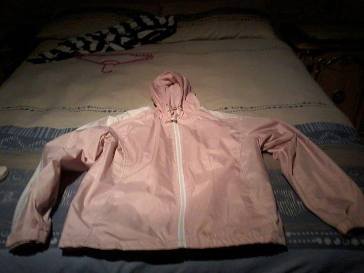 Pink windbreaker for sale