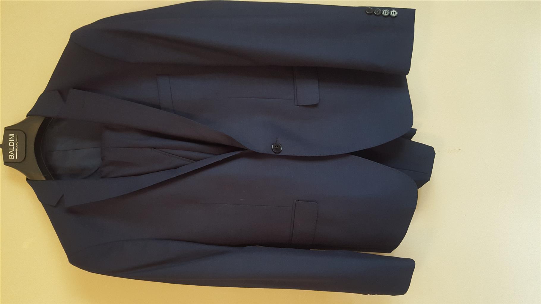 Blue Colbolt Baldini Milano suit