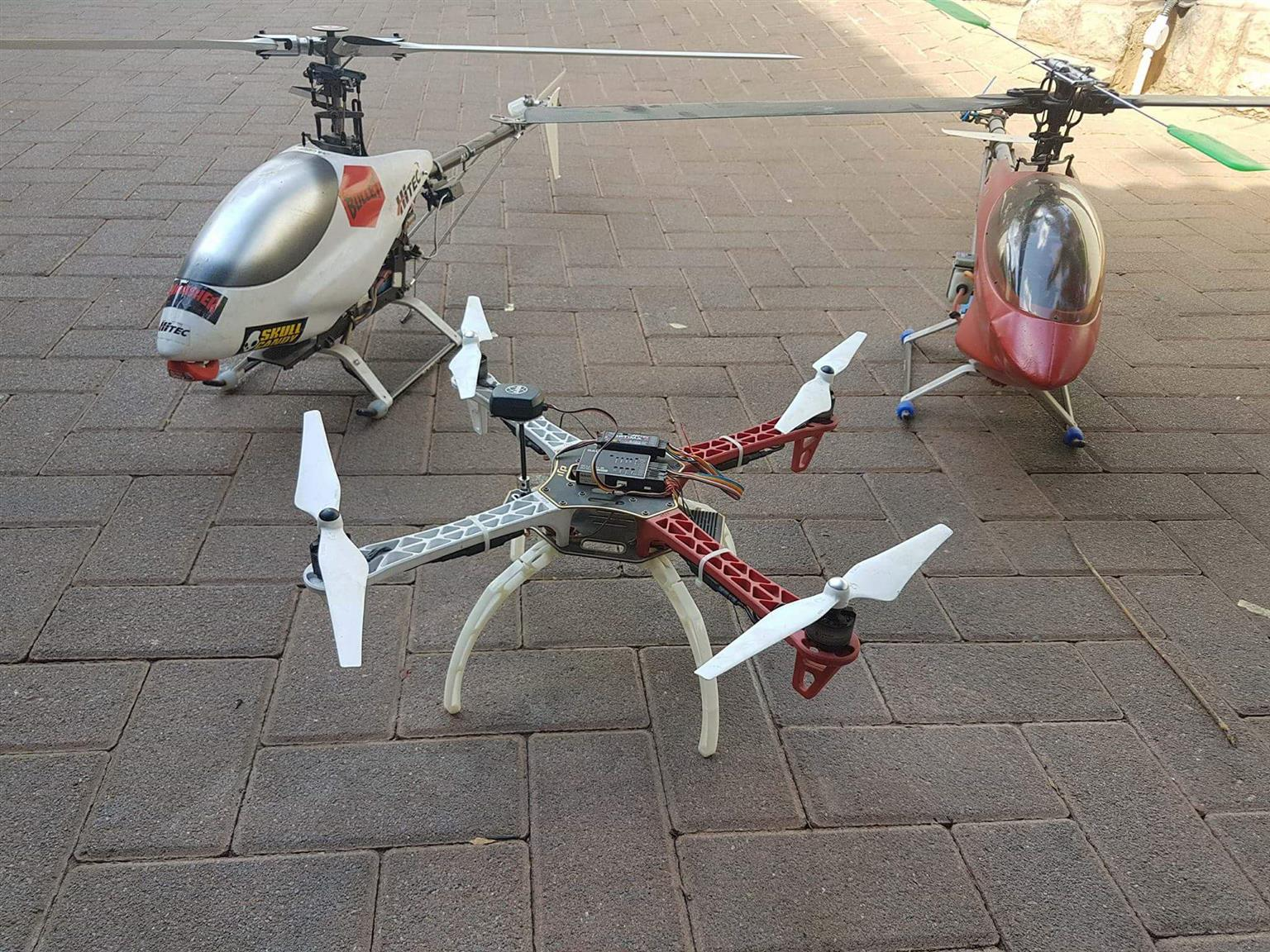 One time deal. Rc Helicopters and quad.