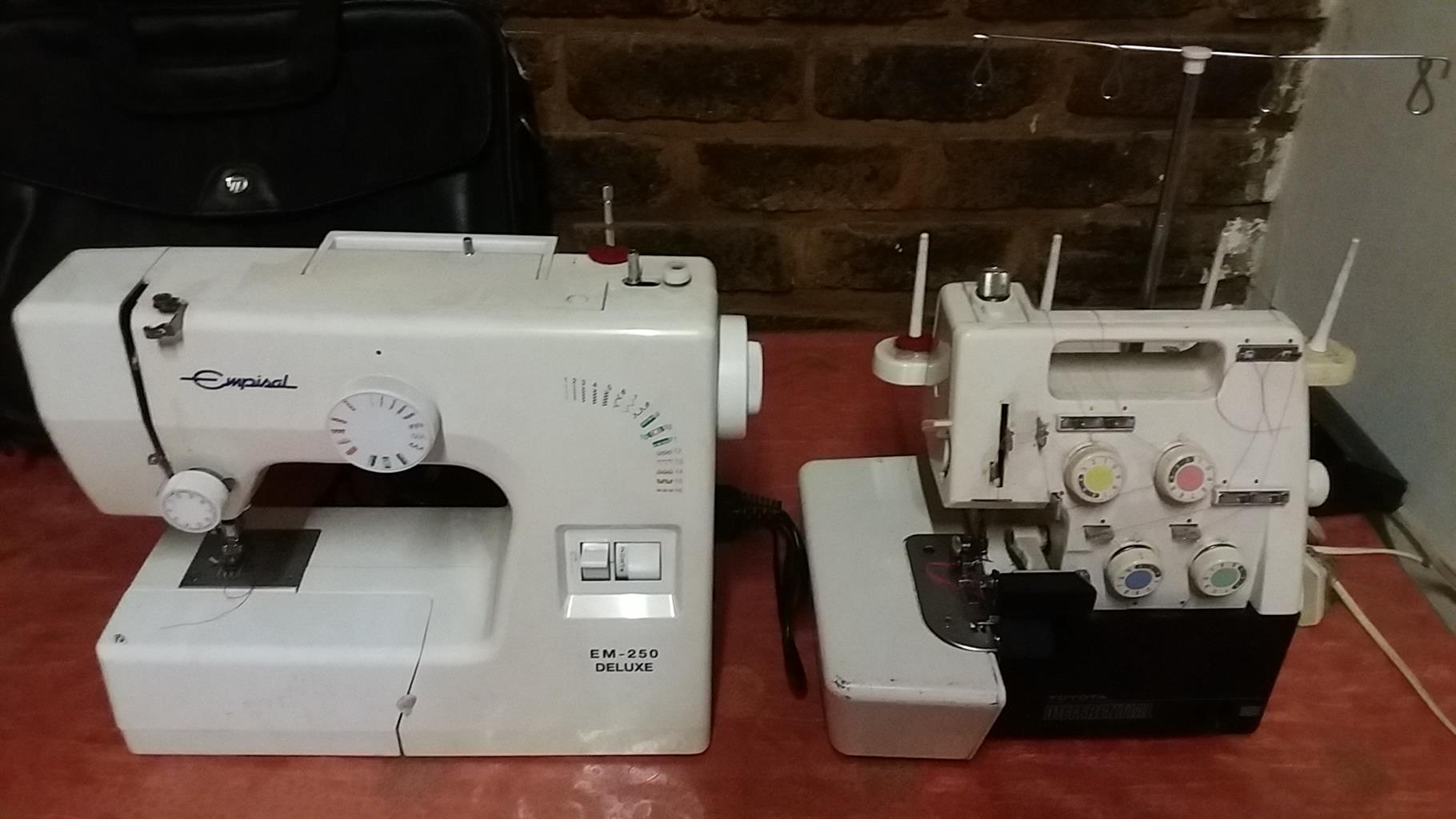 Sewing Machine & Overlocker