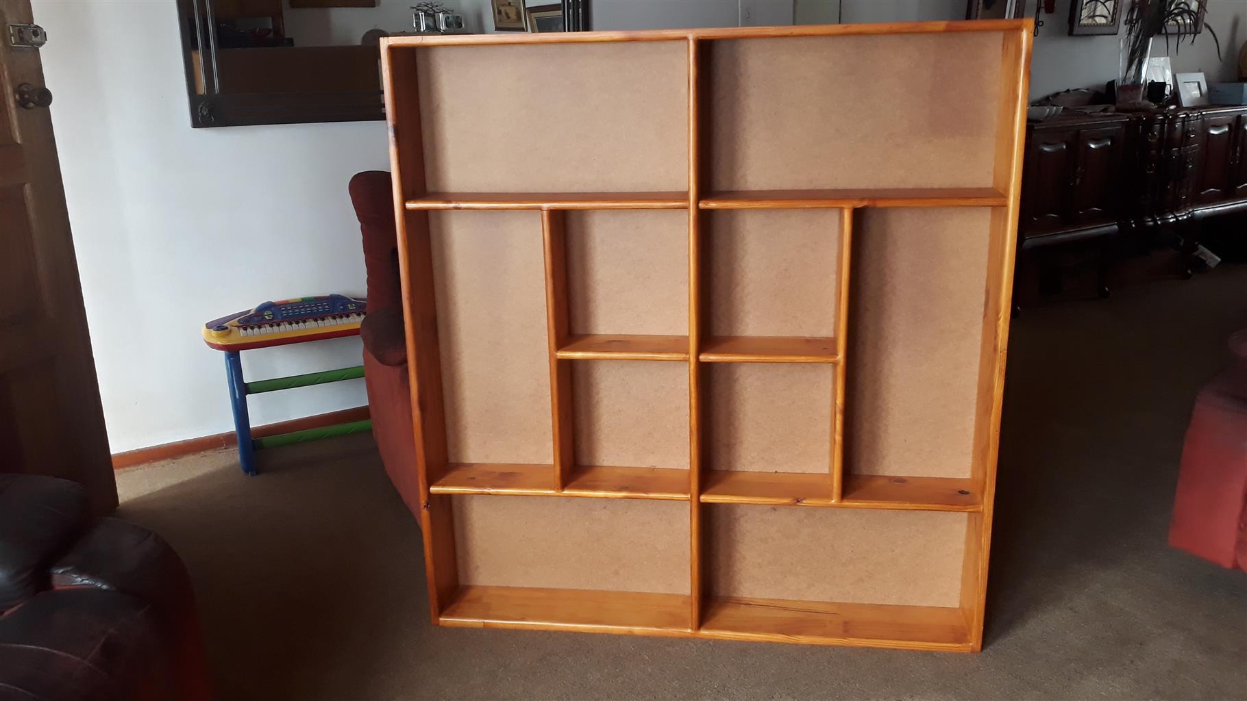 book shelve  pine