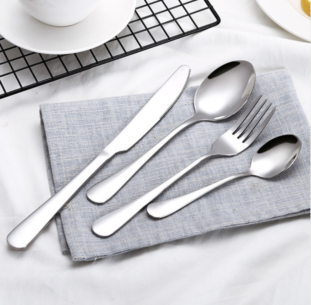 Cutlery Sets - Available in Black, Rose Gold or Silver