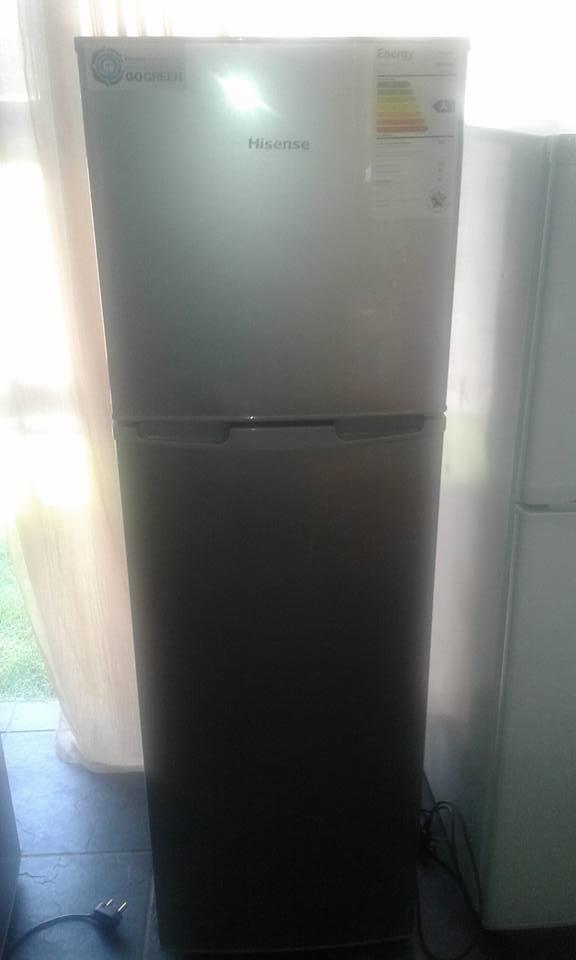 Hisense 220 litre silver fridge