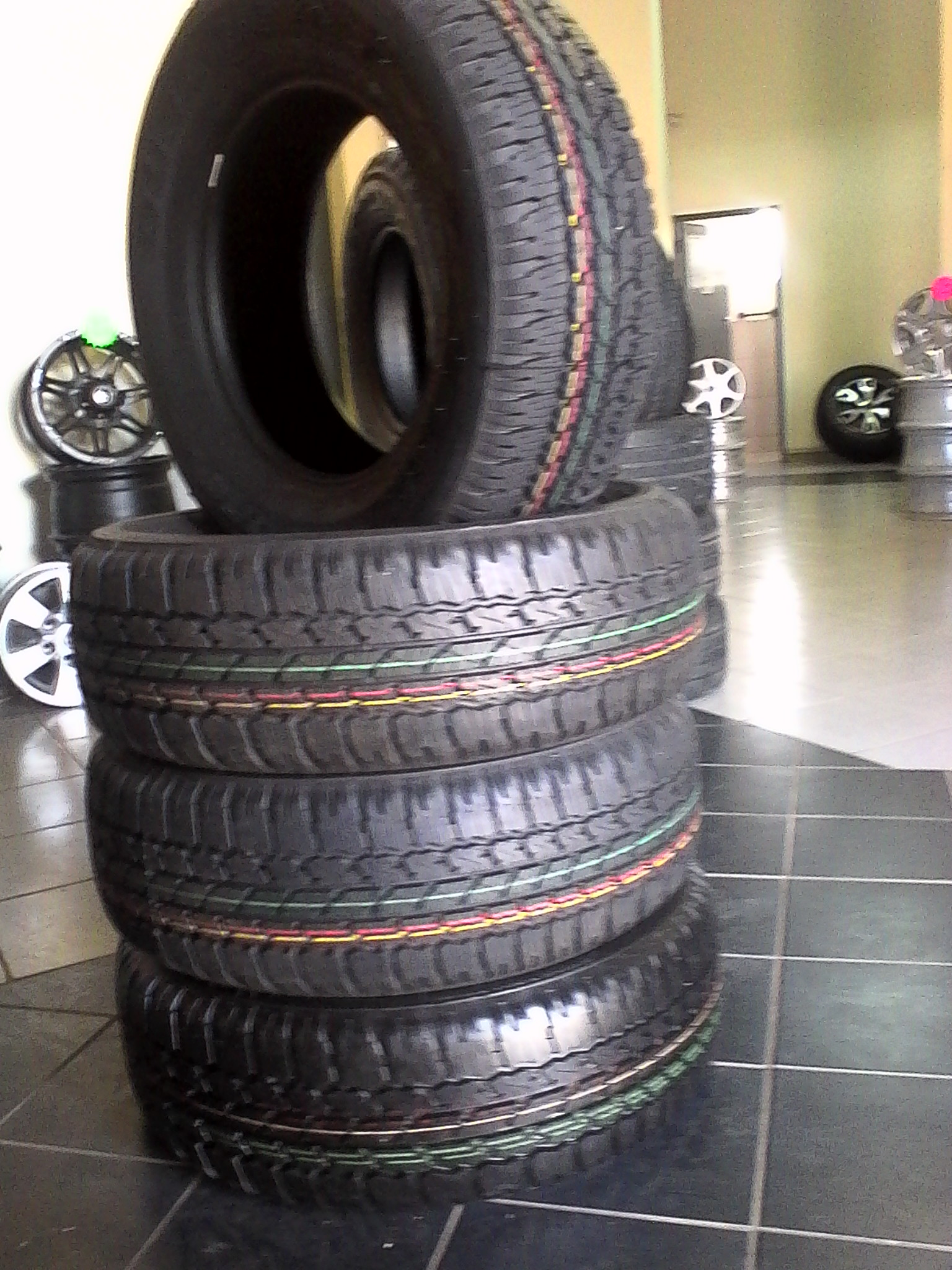 Bridgestone dueler A/T 265/65/R17 Tyres for R6499 {Set of 4} prices include fitment.