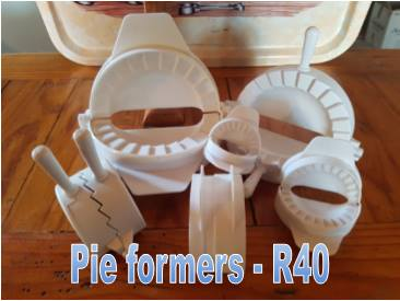 Pie formers for sale