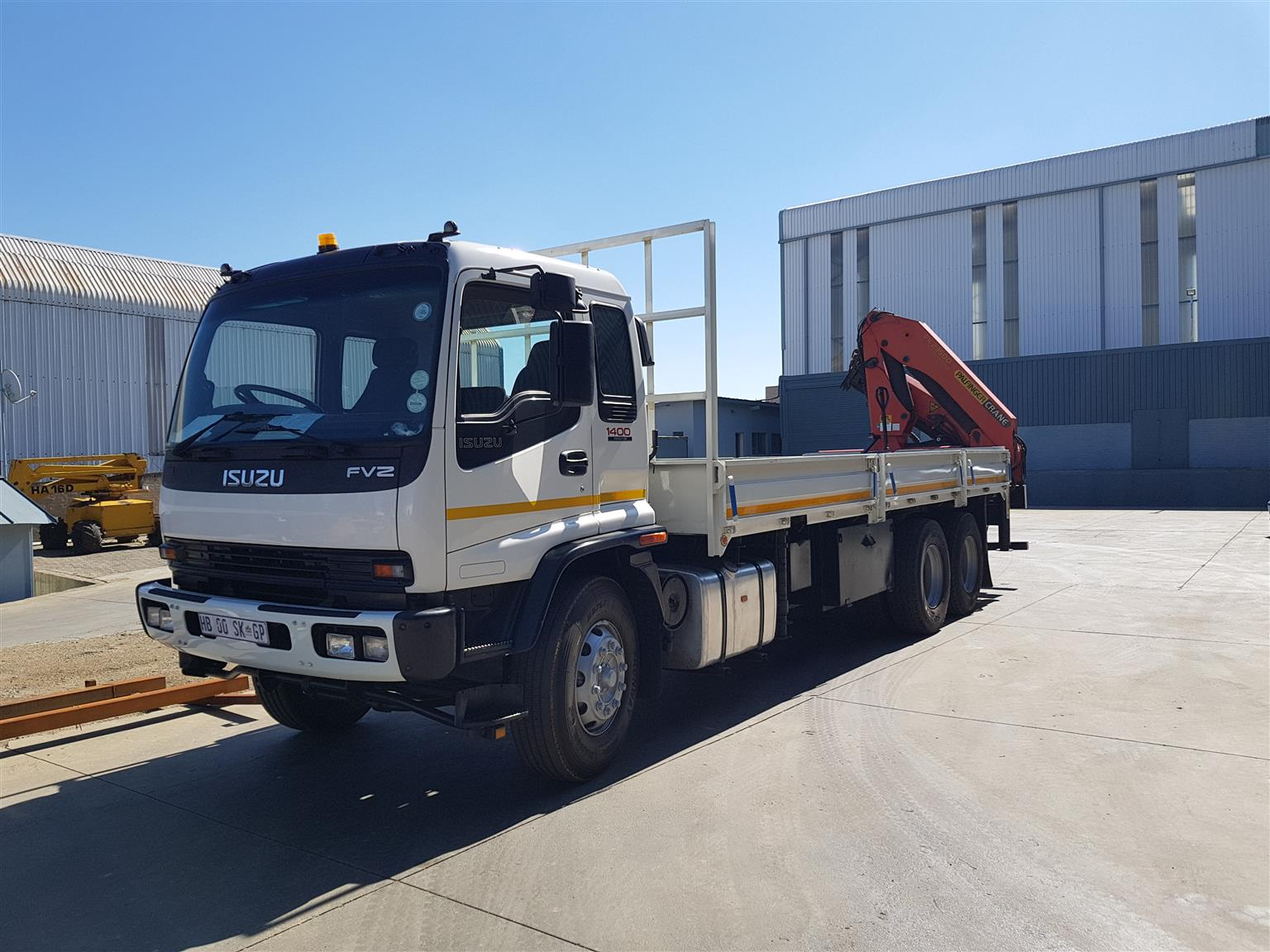 Crane Truck Hire and Machine Movements