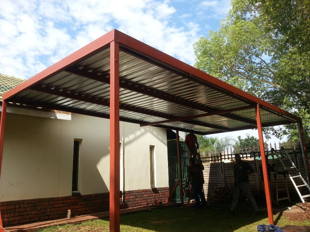 Ibr Carports For Sale Gauteng 0721248120, Flat Roof Carports For Sale  Johannesburg, Carports For