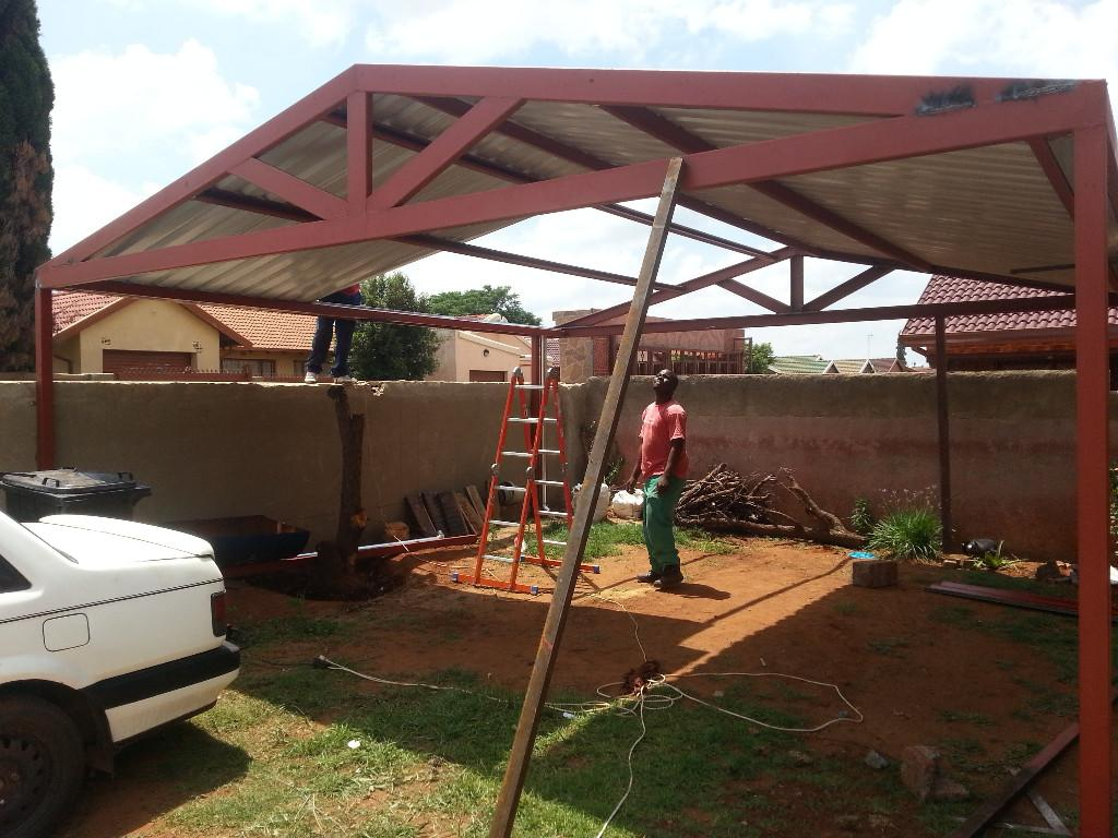 Ibr carports for sale Gauteng 0721248120, Flat roof carports for ...
