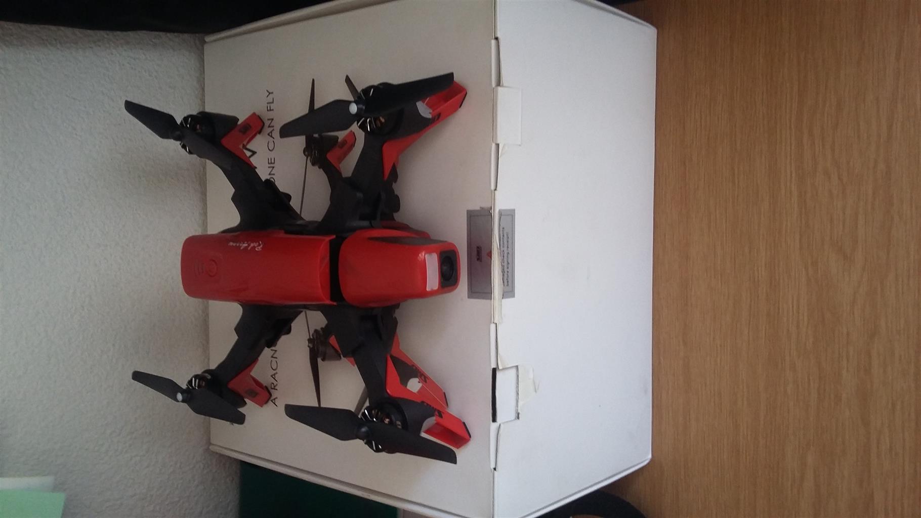 Drone Red Arrow