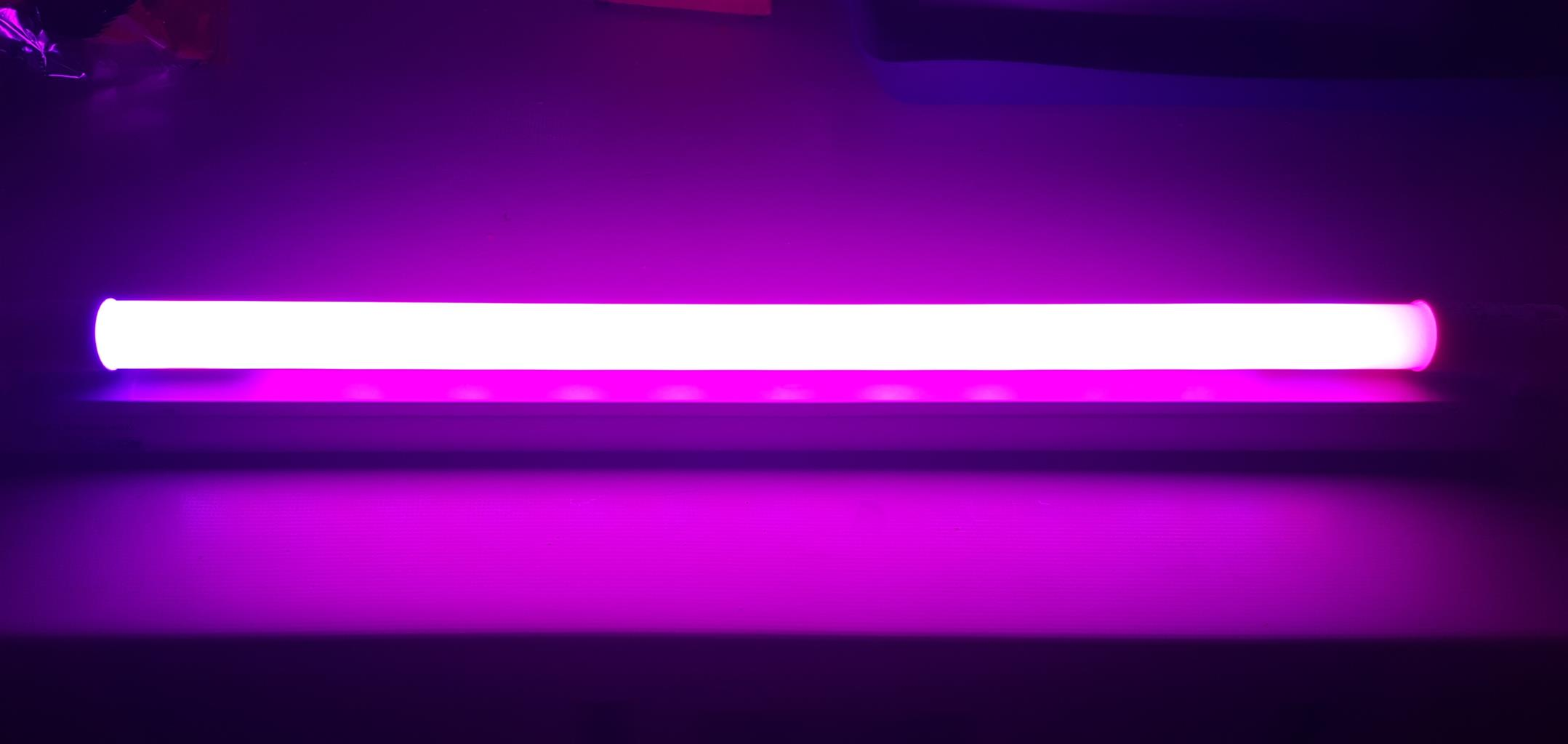 Plant Growing LED Tube Light 9W 2Ft Complete