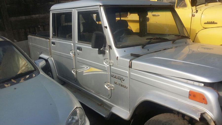 Mahindra Bolero Double Cab Breaking for Spares