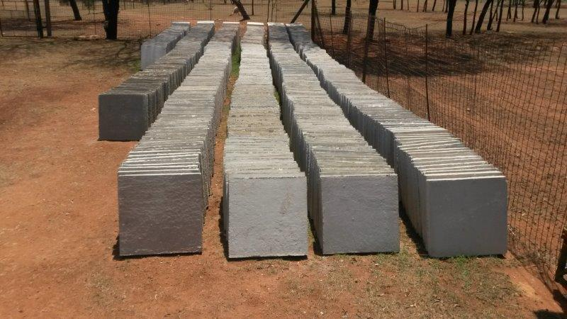 1500 New paving blocks 450 x 450 x 50mm