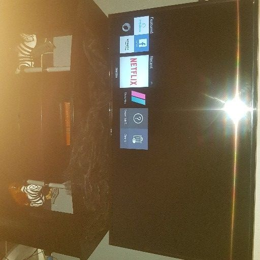 "samsung 48"" smart tv with cabinet for sale"