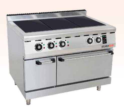 ELECTRIC SOLID TOP STOVE WITH ELECTRIC OVEN