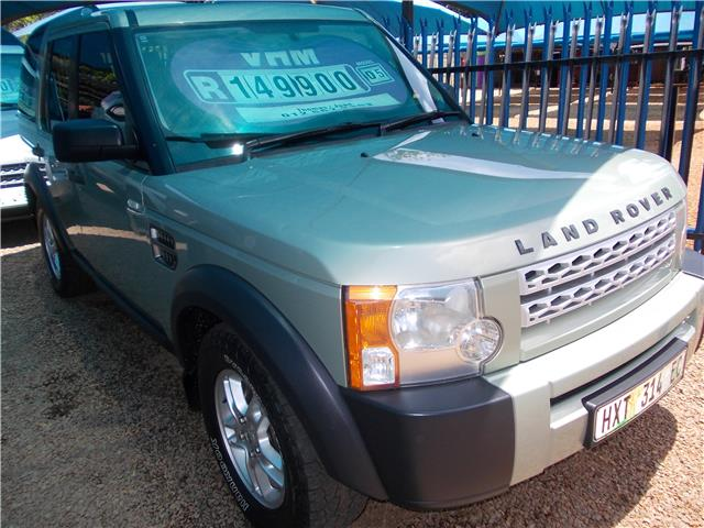 2005 Land Rover Discovery 3 V6 S Junk Mail
