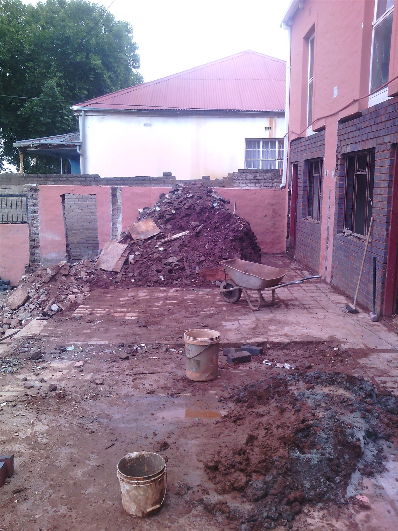 we do rubble removal