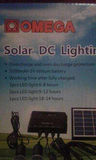 Solar Dc lighting kit