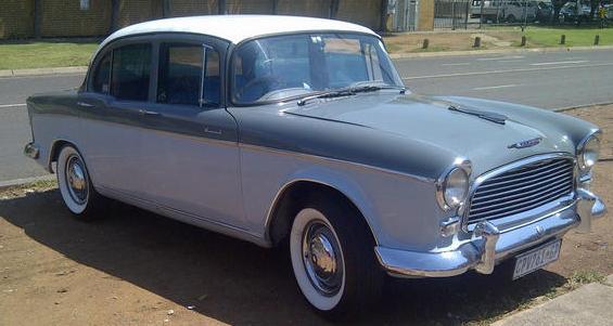 1958 Humber Hawk