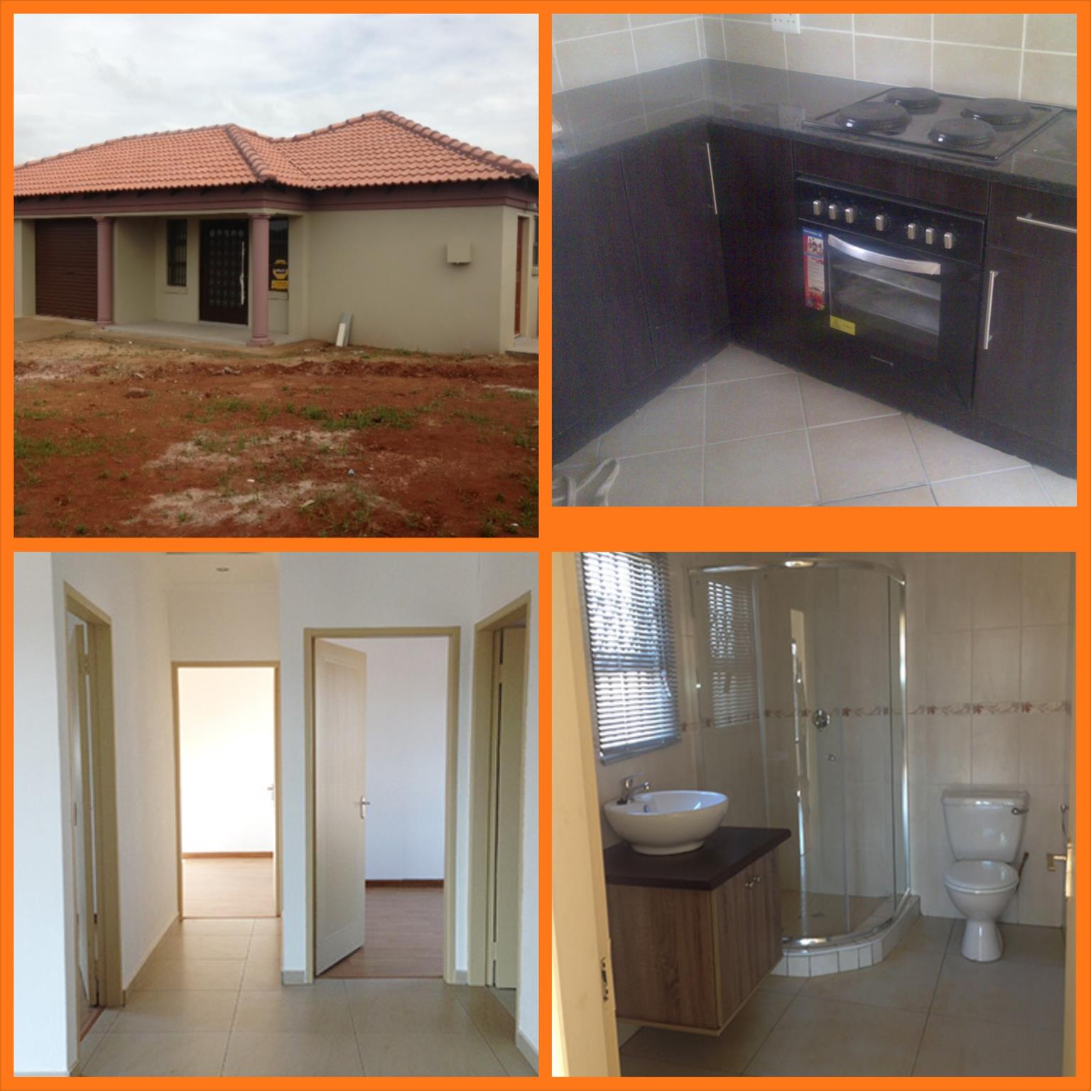 Brand new Houses for sale in vanderbijlpark C E 3/4 from R 379k  all costs included no hidden costs