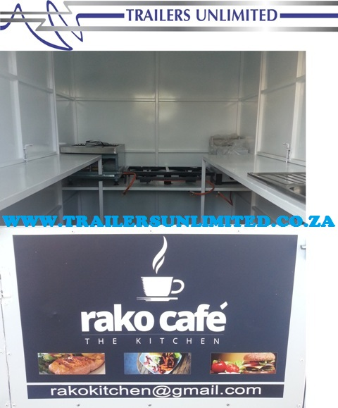 TRAILERS UNLIMITED THE RAKO CAFE TRAILER.