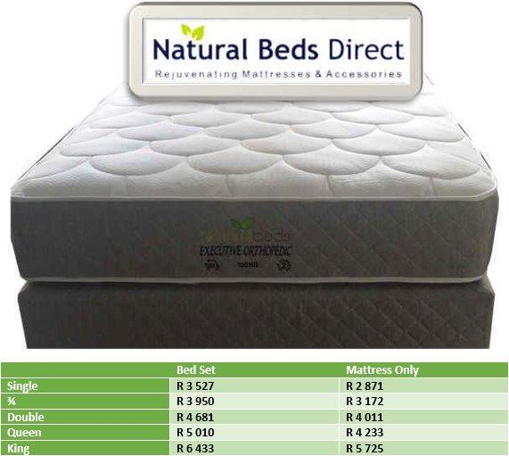 MATTRESSES = EXECUTIVE ORTHOPAEDIC DOUBLE BED & BED SETS
