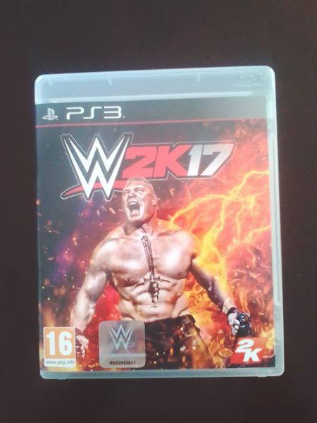2k17 wrestling ps3 game