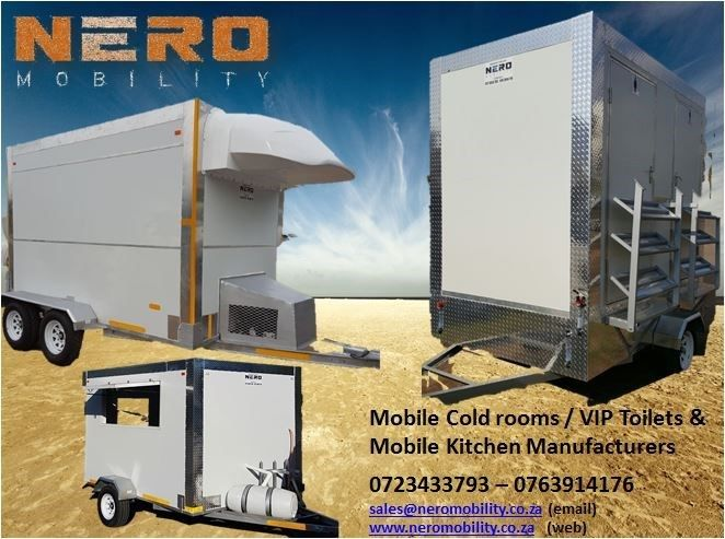 Mobile Chillers - Mobile Freezers - Mobile Kitchens for Sale
