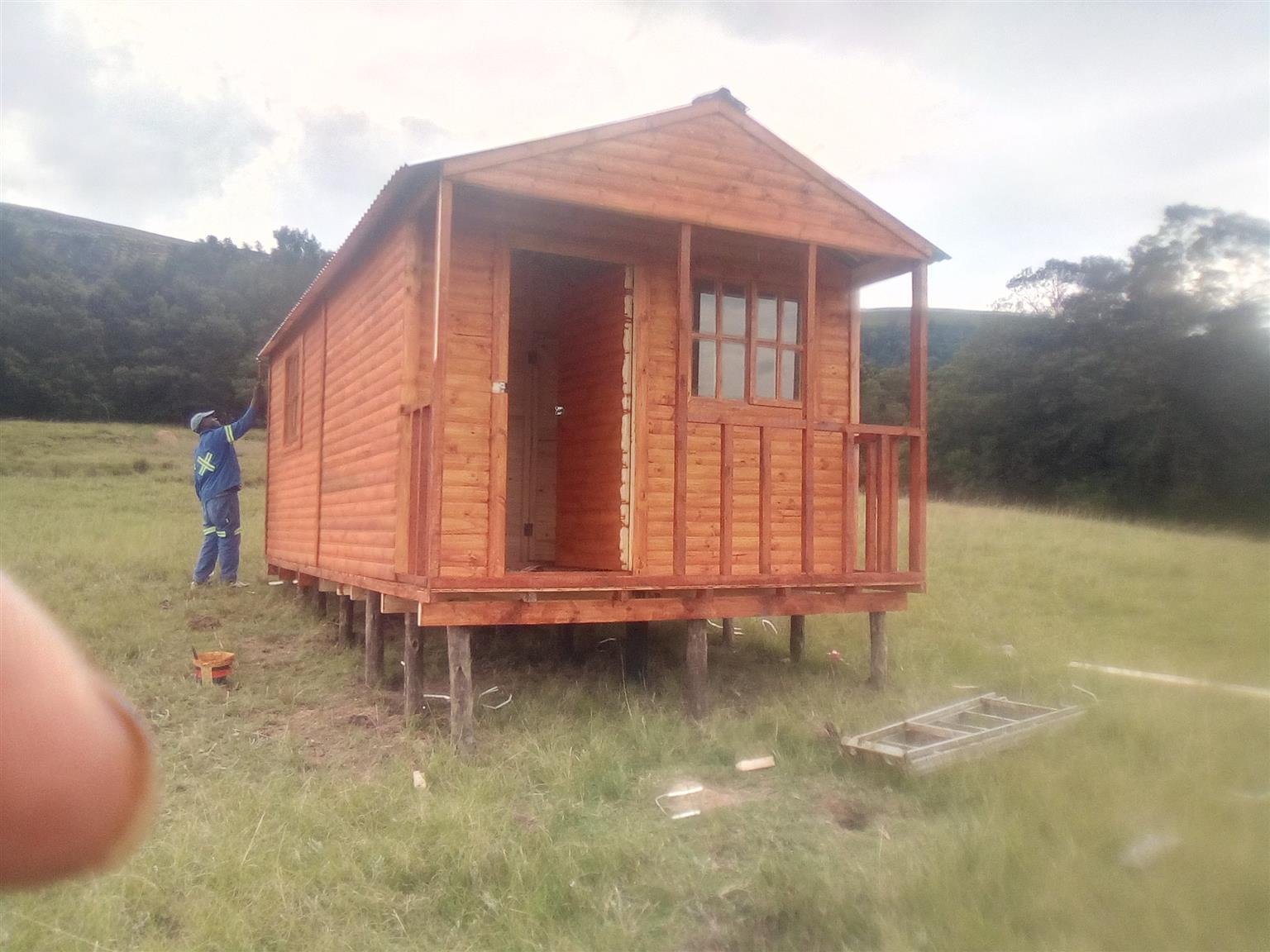 Quality 6x6m Log Cabin For Best Price
