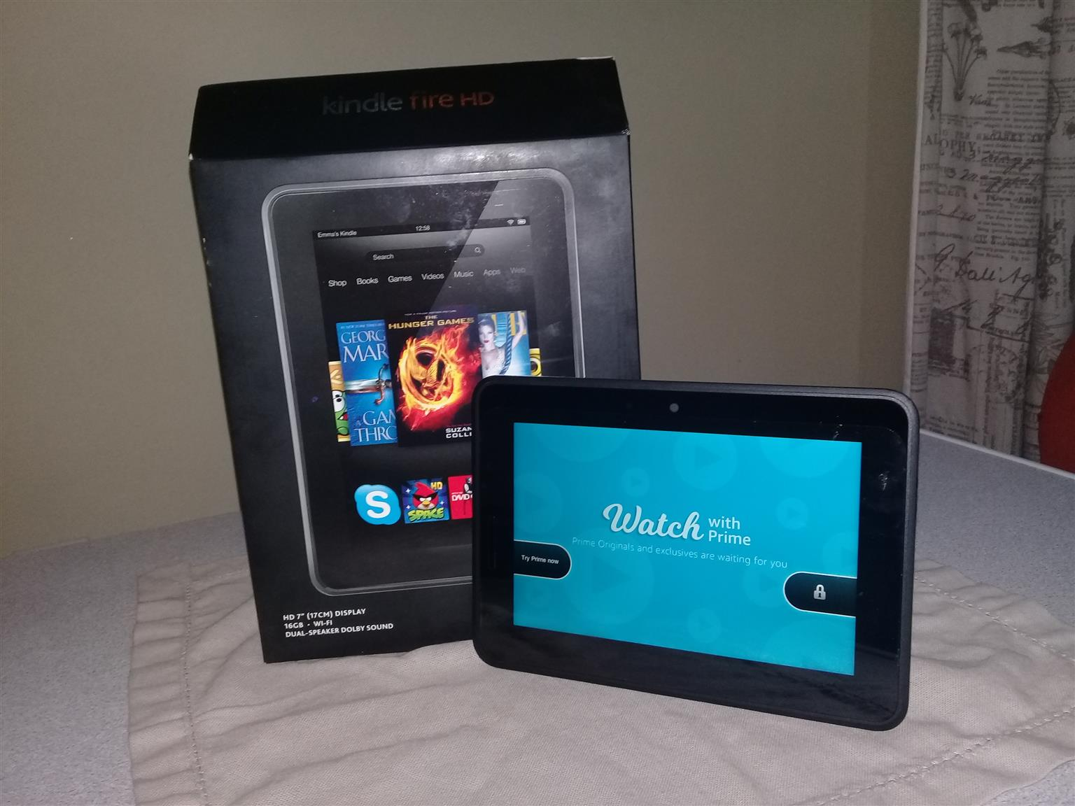"Kindle Fire HD 7"" Wifi 16GB"