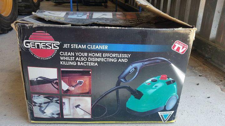 Genesis jet steam cleaner