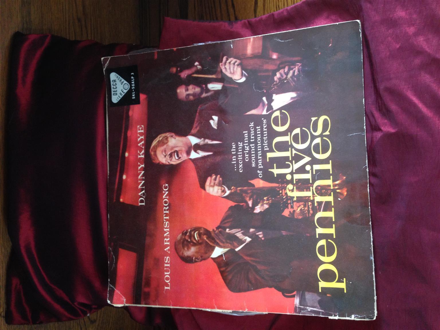 4 Vintage LP's