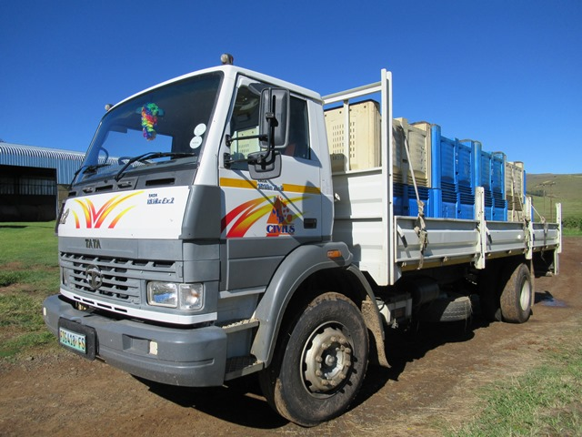 Tata 1518c Ex2 Dropside Truck