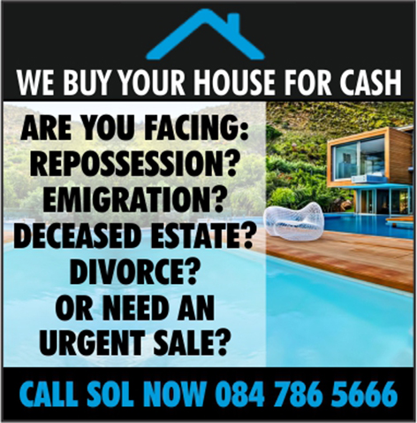 WE BUY YOUR HOUSE FOR CASH