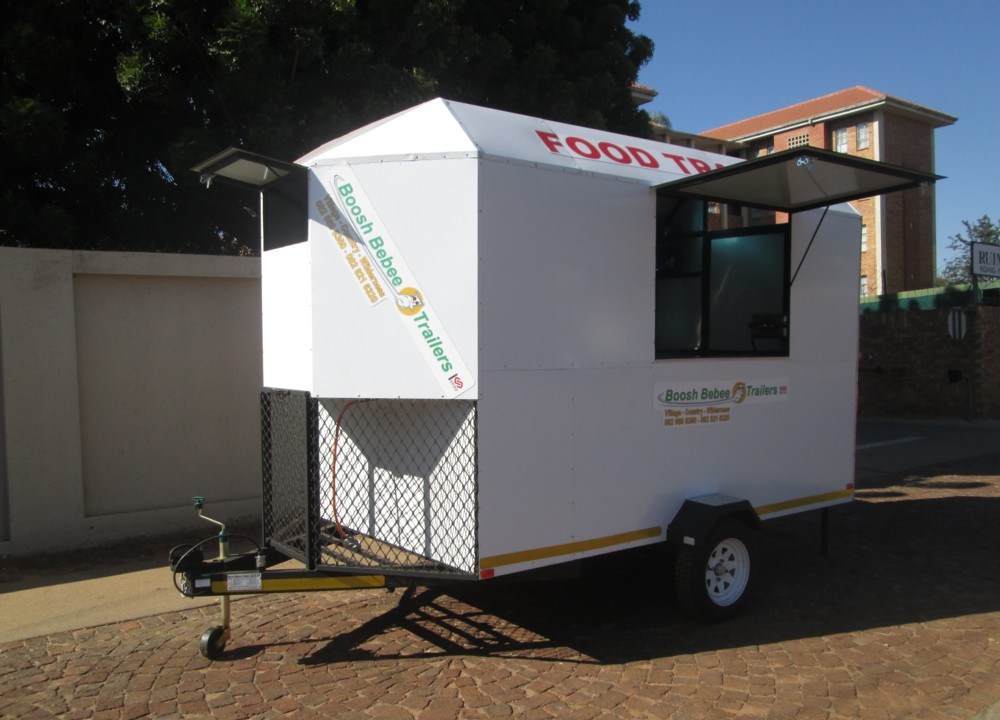 A. MOBILE KITCHEN TRAILER
