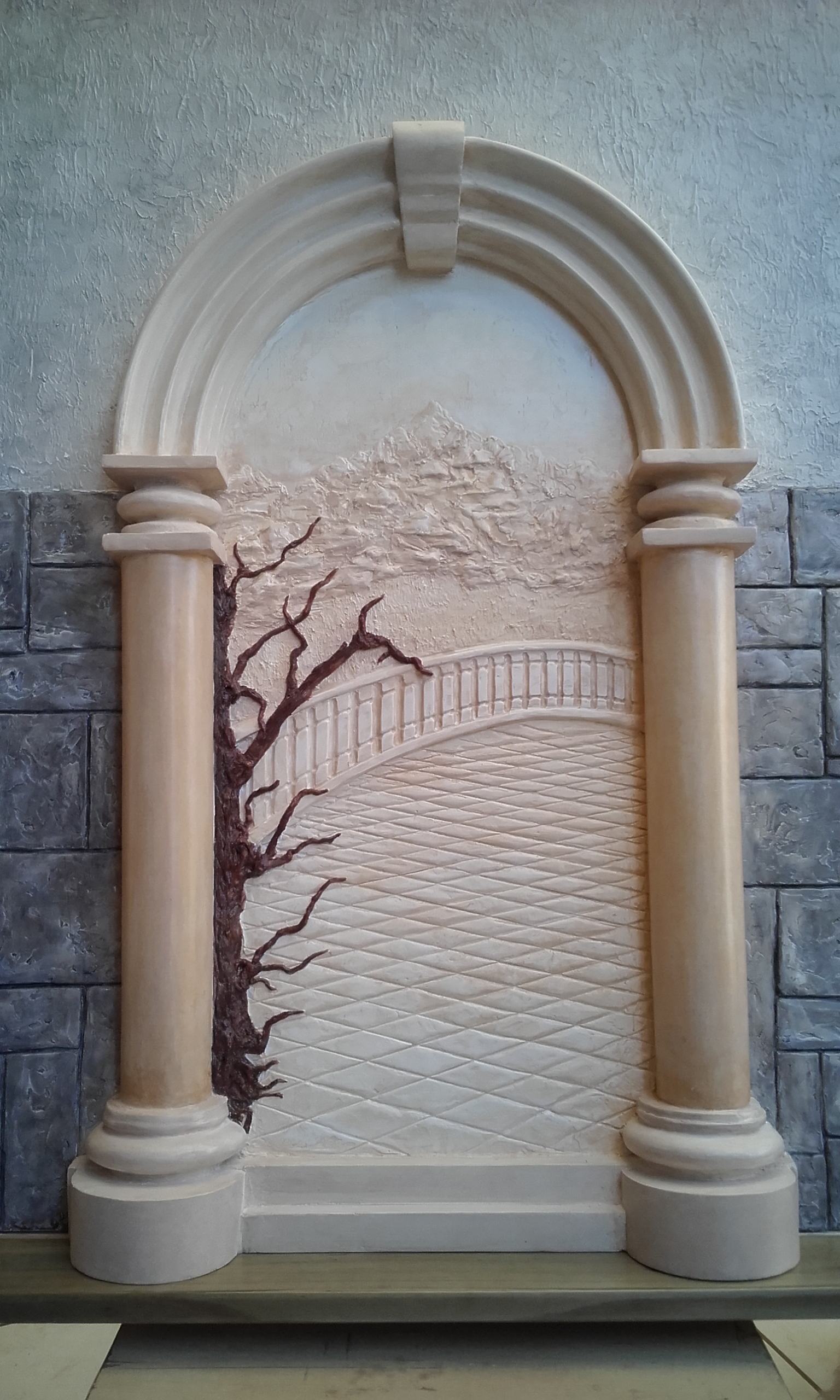 3D Sculpted Art on Walls