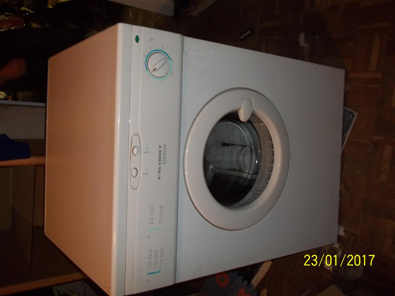 a white tumble for sale