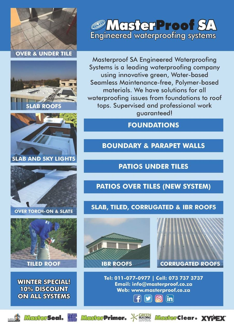 SUMMER SPECIAL ON WATERPROOFING SERVICES