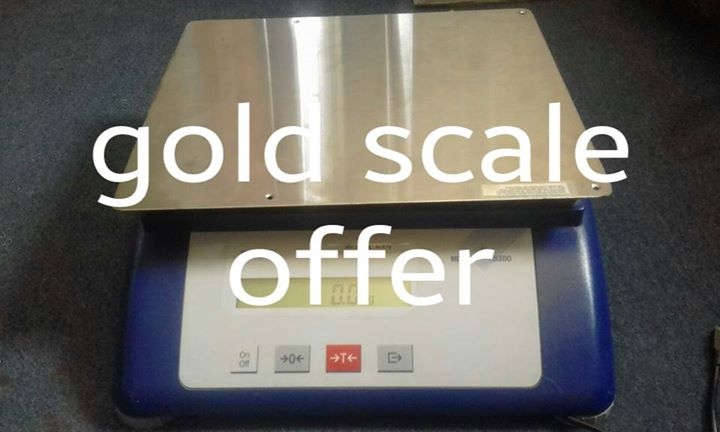 Gold scale for sale