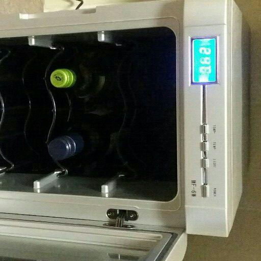 Wine cooler with Wine rack
